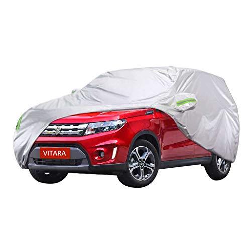 Couverture de voiture Couverture spéciale de voiture de voiture de Suzuki Vitara VUS épais de tissu de protection de soleil de protection de pluie et d'antigel de protection contre le gel de voiture d