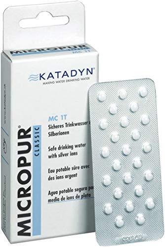 Katadyn Micropur clásico 1t Tableta de purificación de Agua
