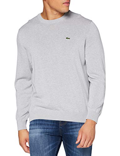 Lacoste AH1985 Maglione, Argent Chine, 3XL Uomo