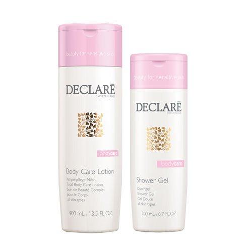 Declare Bodycare Set (Body Care Lotion, 400 ml + Shower Gel, 200 ml), 1er Pack (1 x 1 Stück)