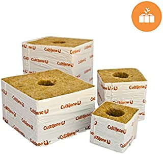 Horticulture Source Cultilene Rockwool Blocks-4 x 4 x 4 in. (case of 144 pieces) dl-CUL444