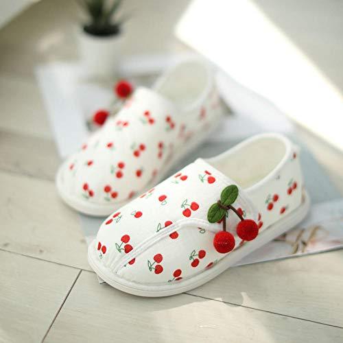 B/H Lino Zapatillas,Zapatos de confinamiento Bolsa de sección Delgada de Verano con Fondo Suave Antideslizante Zapatos de Maternidad de Interior-Amarillo_40 / 41,Pantuflas Cómodas