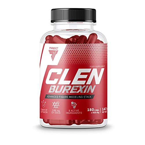Most Effective Thermogenic Fat Burner - Clenburexin 180caps - Trec Nutrition