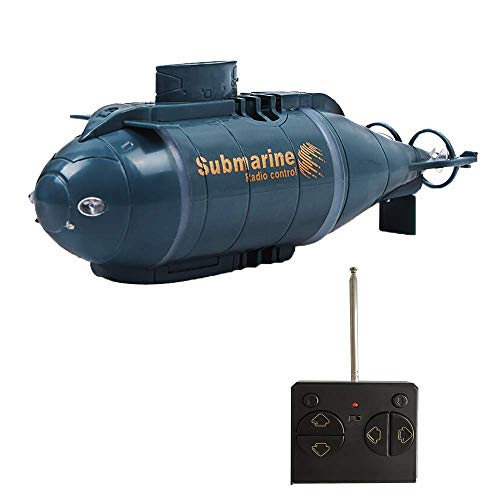 YEIBOBO ! 6 Channels Mini RC Submarine Toy (Blue)