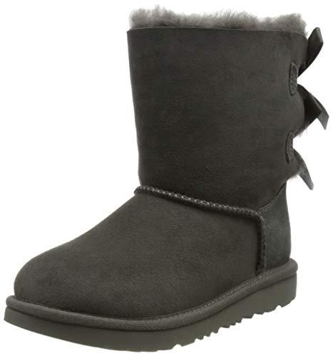 UGG Damen Bailey Bow II Classic Boot, Grey, 32.5 EU
