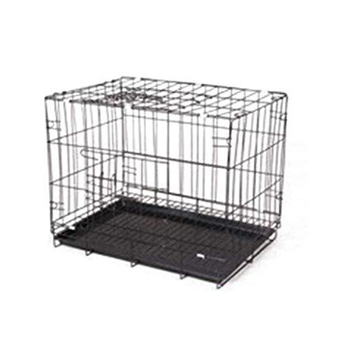 PRJEDLK Alambre Jaula Rectangular para pájaros pequeños y Conejos para Perros con Bandeja extraíble