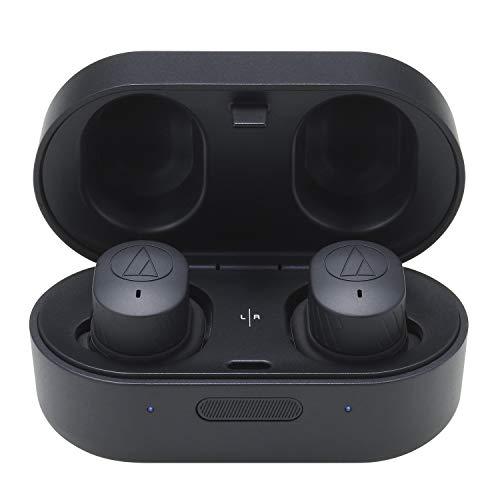 Audio Technica ATH-SPORT7TW - AUTÉNTICOS Auriculares Intra AURALES INALÁMBRICOS - Negro