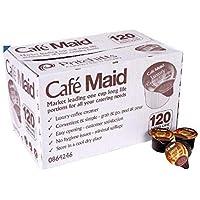 120 Cafà © Maid lujo porciones Coffee Creamer, Larga Vida Individuales