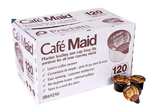 Cafe Maid Coffee Creamer Individual Portions - 120