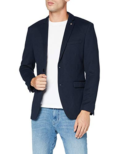 ESPRIT Herren 990EE2G301 Blazer, 405/DARK Blue, 52