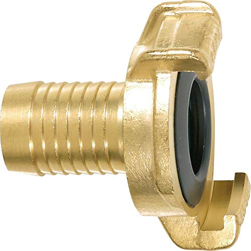 GEKA 40102SB Schlauchstück 5/8 Zoll 16 mm MS, Gold, 18 x 8 x 13 cm