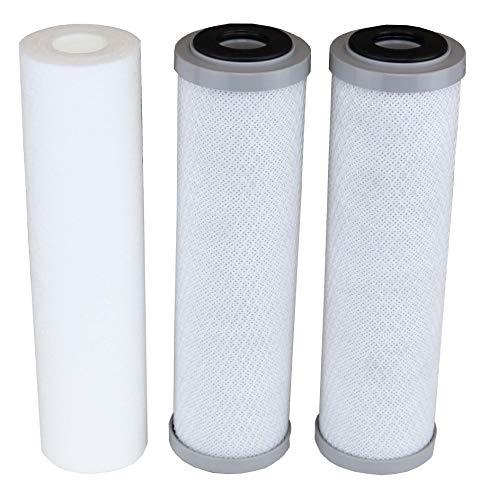 APEC Filter-Set für Modelle ROES-50, ROES-75, RO-45, RO-90, RO-PH90, RO-PERM, RO-Hi, WFS-1000, ROES-UV75, ROES-PH75, ROES-PHUV75, ROES-PHUV75, ROES-UV75-SS, 1 Sediment, 2 Carbon