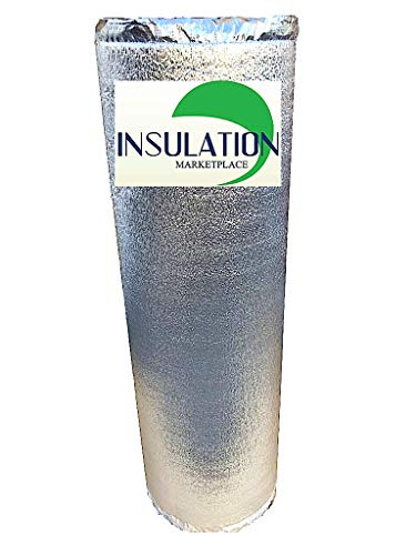 SmartSHIELD -3mm 48'x100Ft Reflective Insulation roll, Foam Core Radiant Barrier, Thermal Insulation...