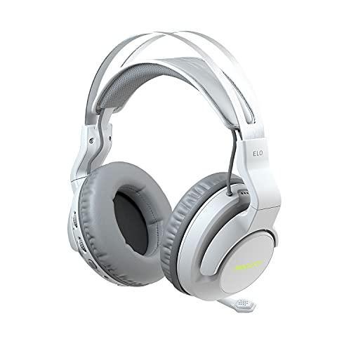ROCCAT Elo 7.1 Air Wireless Surround Sound RGB Gaming Headset, White