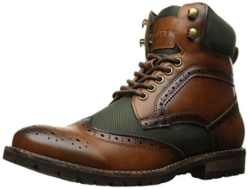 Madden Men's M-Sorri Combat Boot, Cognac, 7.5 M US