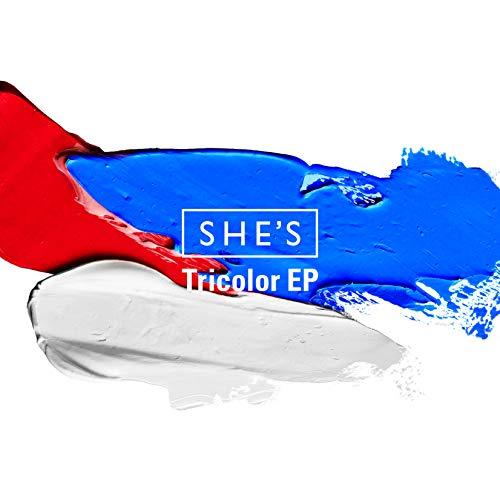 [single]Tricolor EP(Masquerade/Letter/Your Song/She Will Be Loved) – SHE'S[FLAC + MP3]