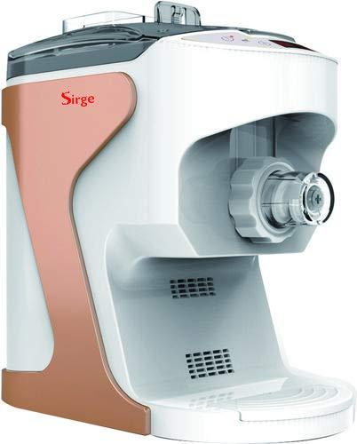 Sirge LELLAPASTA Macchina per fare la pasta fresca in casa ESTRUSIONE VERTICALE - 18 tipi di pasta - SEMIAUTOMATICA - Ventilazione essiccazione