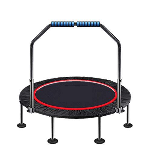 SXDE Trampolín Plegable Pequeño Fitness de 40/48 Pulgadas,Trampolín con para Uso en Exteriores e Interiores, Adecuado para niños de Adultos