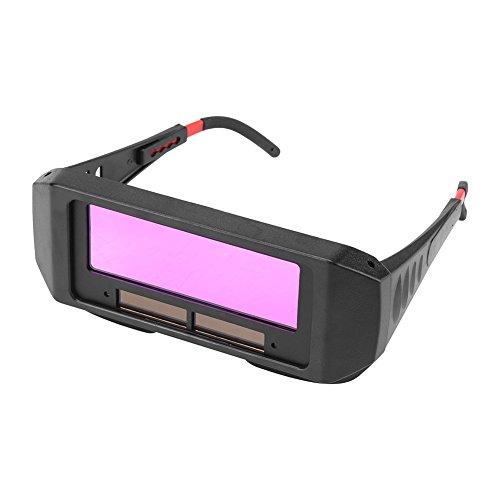 Schweißerbrille, Solar automatische Verdunkelung Schutzbrille für Schweißen Augenschutz
