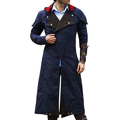 AC Unity - Chaqueta larga para disfraz de cosplay