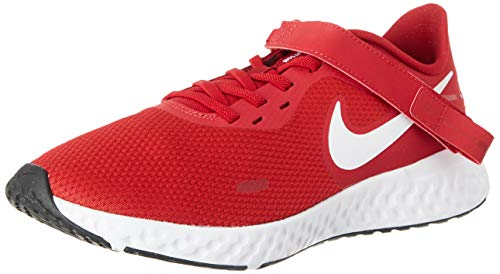 Nike Revolution 5 Flyease M, Zapatillas para Correr Hombre, Rojo (Rosso Gym Red White Black), 42 EU