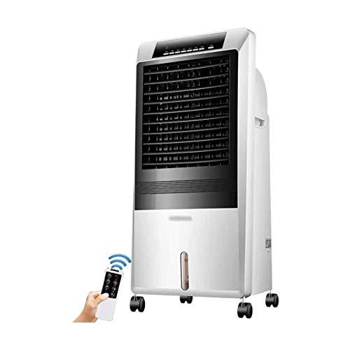 Verdunstungsluftkühler mit Fernbedienung, 3 Lüfterdrehzahl 9 Stunden Timer 8L Wassertank 65W, Geeignet für das Home Office, B.