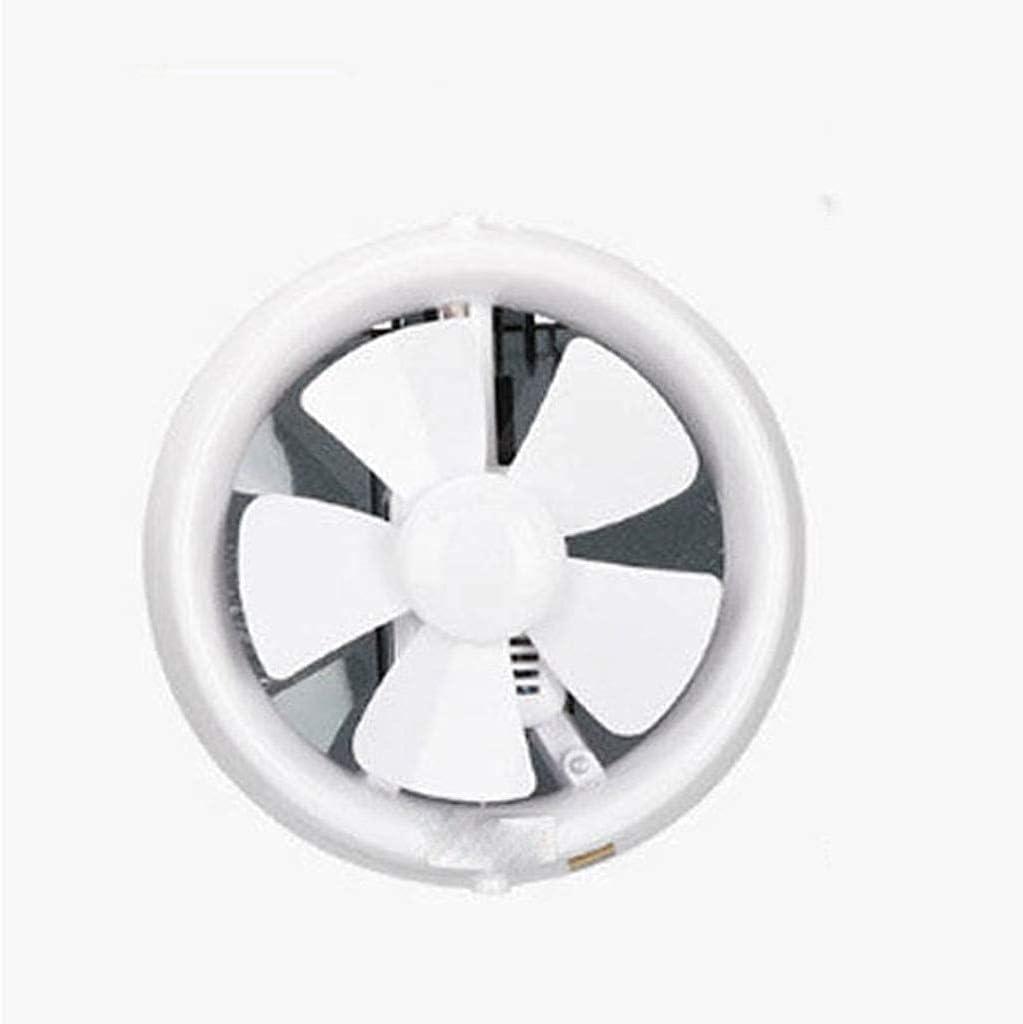 Persianas Blancas Ventilador de Escape Hogar Baño Aseo Cocina Ventilador de bajo Ruido Ventilador de Escape de Tubo Extractor montado en la Pared (Tamaño: 400 * 400 MM)