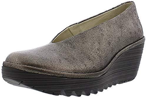 Fly London Yaz, Zapatos de tacón con Punta Cerrada para Mujer