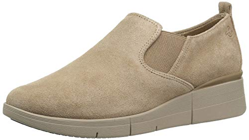 Easy Spirit Women#039s Plume Sneaker Taupe 240 75