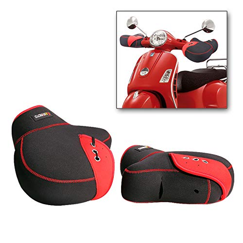 Manoplas Bar Muffs Guantes Moto Scooter Invierno Manillar