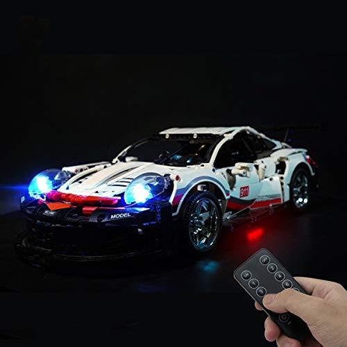 Kit De IluminacióN Led Para Lego Technic Porsche 911 Rsr, Compatible Con El Modelo De Bloques De ConstruccióN Led Lego 42096 (No Incluye Modelo)