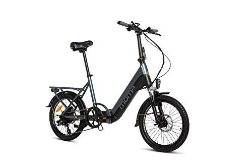 Moma Bikes Bicicleta Electrica Plegabe Ebike 20PRO, Aluminio, Shimano 7V,...