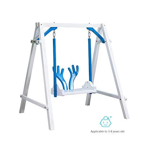 Baby Schommel, Massief Houten Drie-In-One Swing Stoel Grote Hoek Swing Sterke Lager Geschikt Voor Baby's Van 3-8 Jaar