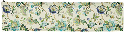 Ellis Curtain Brissac Tailored Valance, 70 x 15, Blue