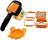 Vegetable Chopper,FOHYLOY Safety Veggie Meals Cutter,Portable Quick Perfect for...