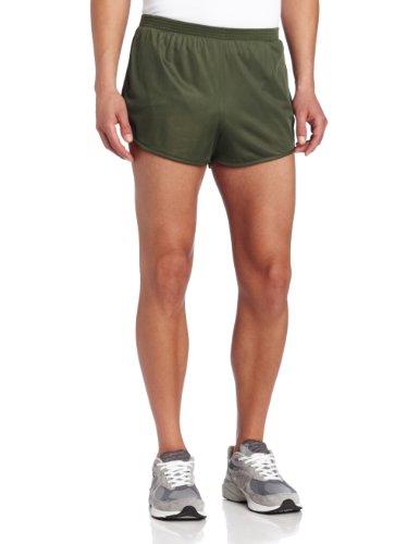 Soffe Men's Ranger Panty Running Short,Od Green,XX-Large