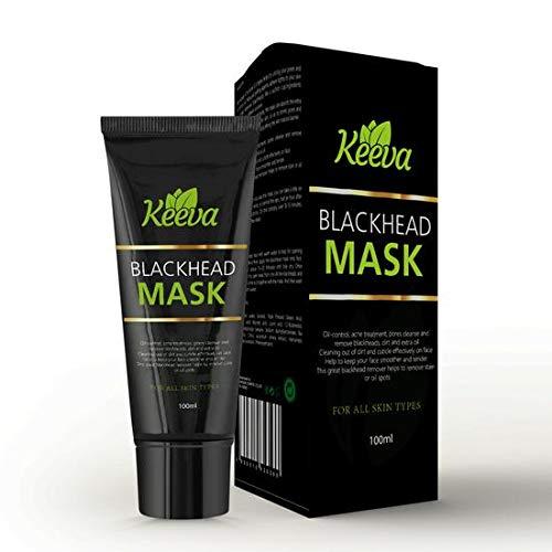 Keeva Organics Black Head Face Mask with Tea Tree Oil,...