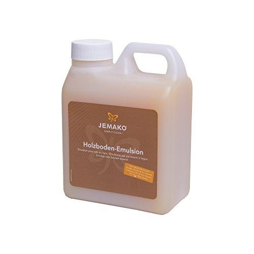 JEMAKO Holzboden Emulsion 1 Liter für Holz Parkett und Laminat / Reinigung & Pflege