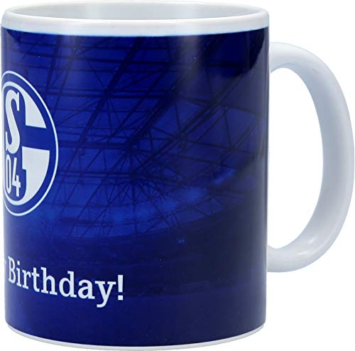 FC Schalke 04 Tasse Happy Birthday!
