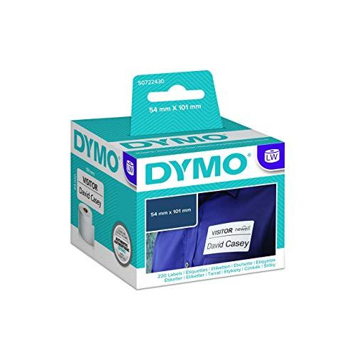 LabelWriter-etiketten, 54x101mm, verzend-etiketten, PG=220ST, permanent, wit