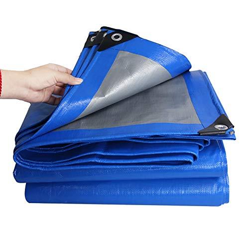 DLDL Bâche imperméable avec Oeillets Toile de Protection Solaire pour Tente de Protection Solaire avec bâche Anti-Pluie, 200g / m² (Taille : 8Mx10M)