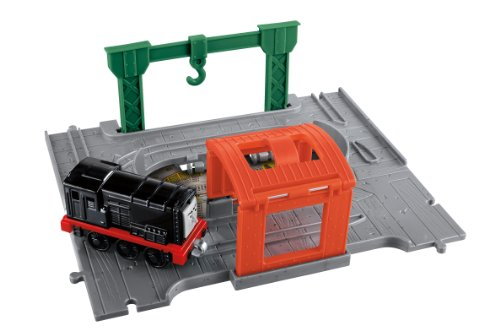 Take N Play Thomas And Friends Portable Set With Diesel Engine Version Anglaise