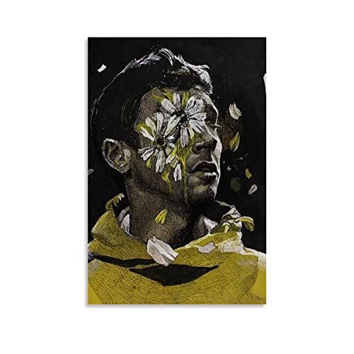 NISHUO Twenty-one Pilots - Póster decorativo de lienzo (20 x 30 cm)