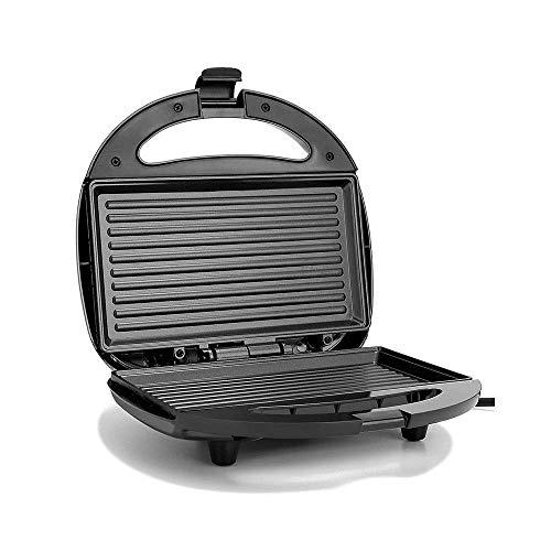 AYDQC Fácil de Limpiar el sándwich Antiadherente y el Fabricante de gofres con Placas de lavavajillas extraíbles Diseño Compacto para el Desayuno, el Almuerzo o los bocadillos fengong
