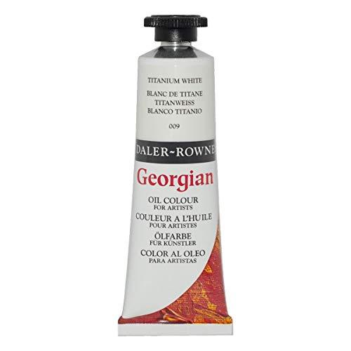Daler-Rowney Georgian Oil Colors, 38ml, Titanium White (111014009)