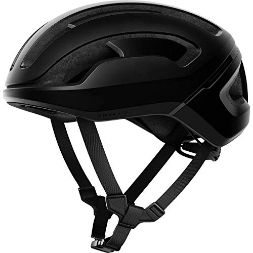 POC Omne Air SPIN - Casco de protección, Unisex Adulto, Uranium Black Matt, Medium