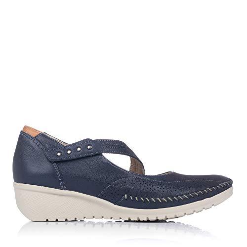 FLUCHOS 757 Zapato Merceditas Piel Mujer