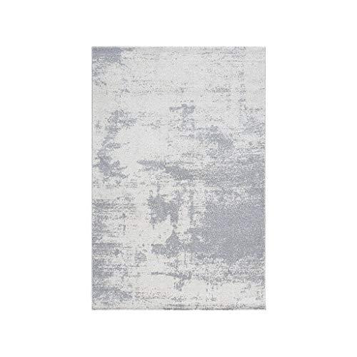 Alfombras JXLBB Polipropileno Simple Abstracto Gris Azul Estilo Minimalista Moderno Verde IKEA...