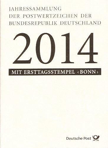Goldhahn BRD-Jahressammlung 2014 Briefmarken für Sammler