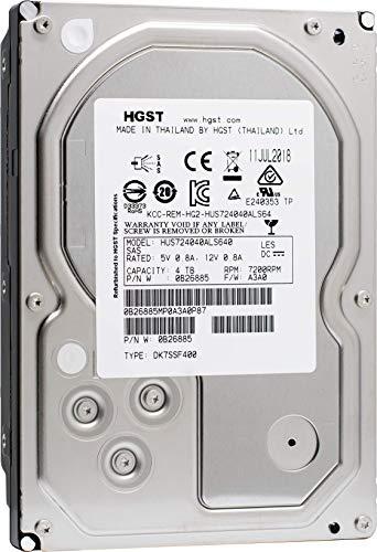 HGST Ultrastar 7K4000 HUS724040ALS640 - Disco duro interno de 4 TB (reacondicionado certificado)